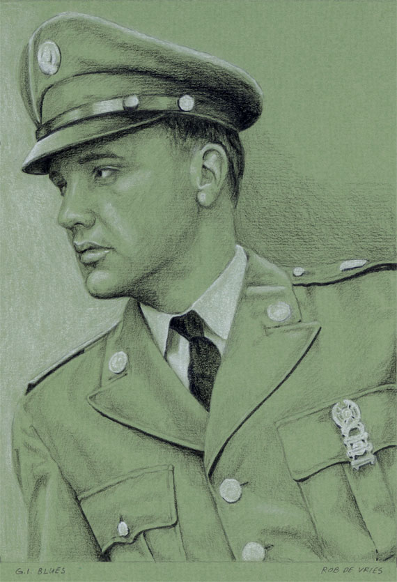 EIC#51 G.I. Blues, drawing by Rob de Vries